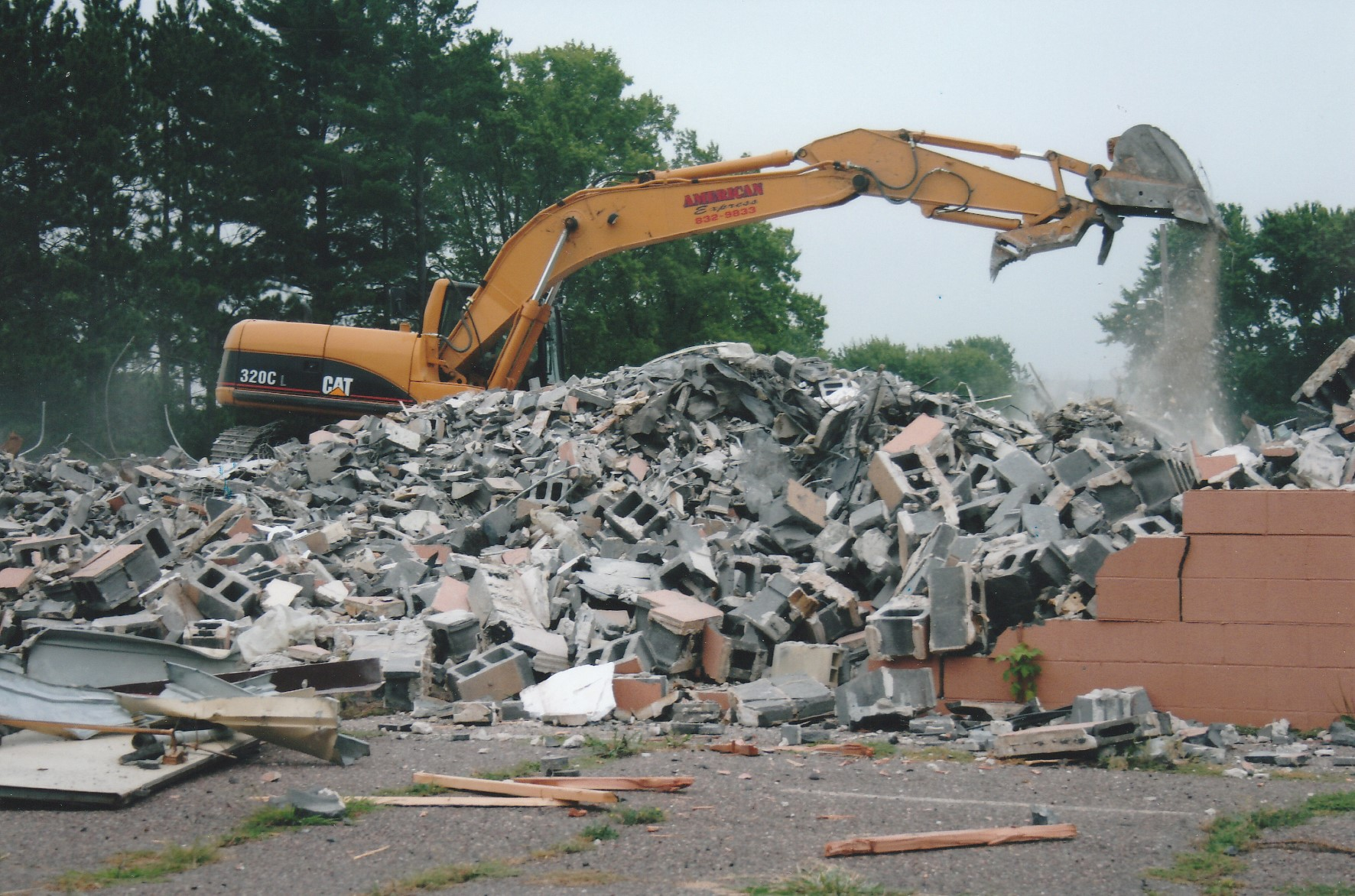 Cleghorn School Demolition