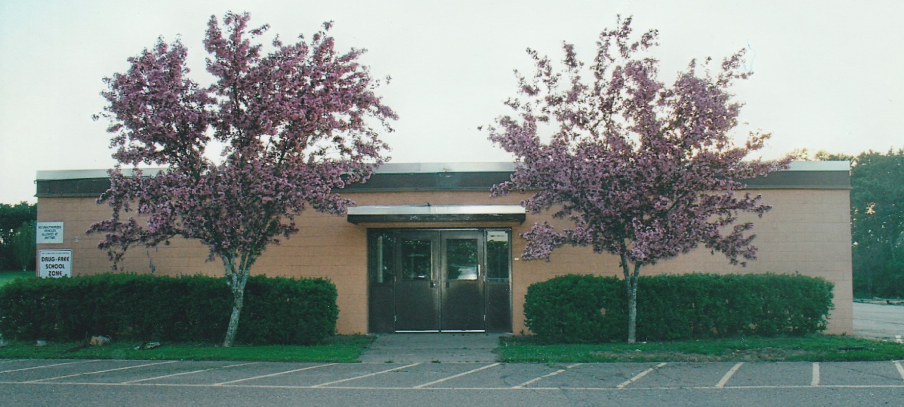 Cleghorn School in the Spring